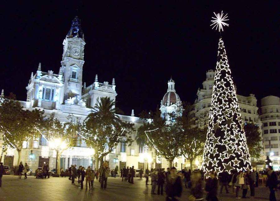 De compras navideñas por Valencia