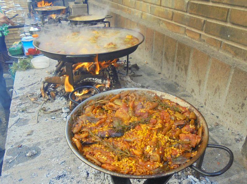 Cocinar una Paella Valenciana