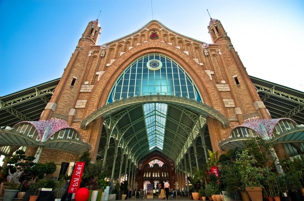 El modernista Mercado de Colón