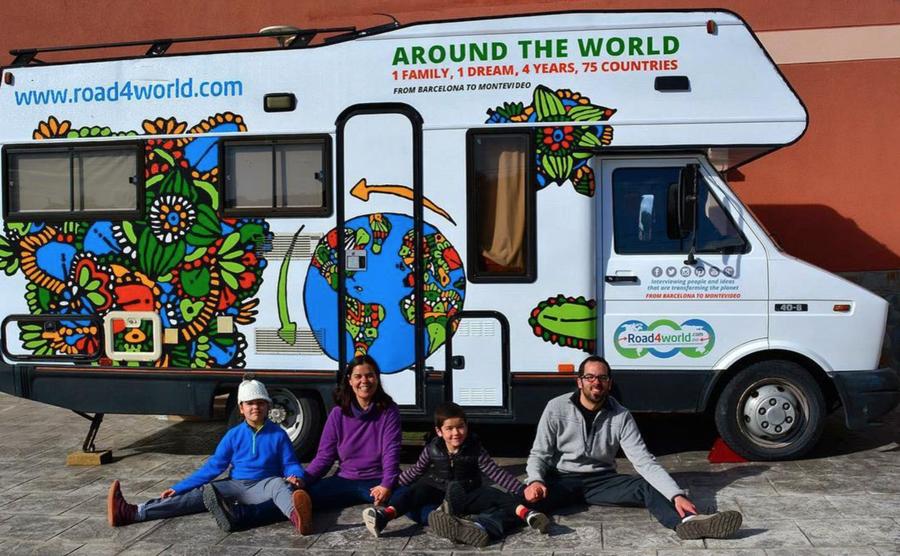 R4W: la vuelta al mundo en autocaravana