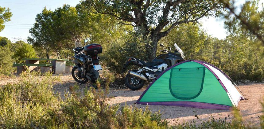 MotoGP en Camping Valencia Camper Park