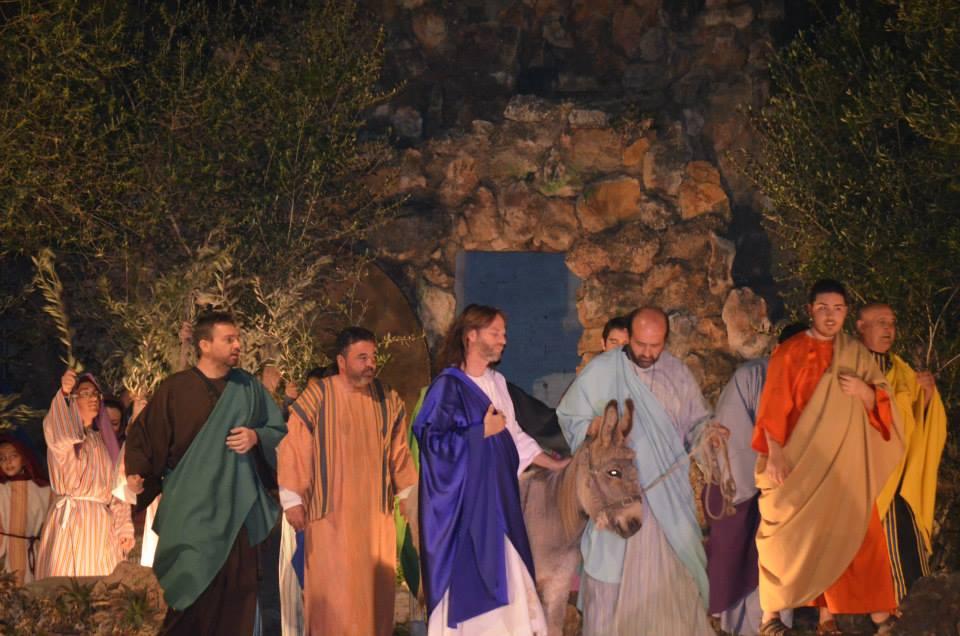 Misterio de la Pasión, en Moncada