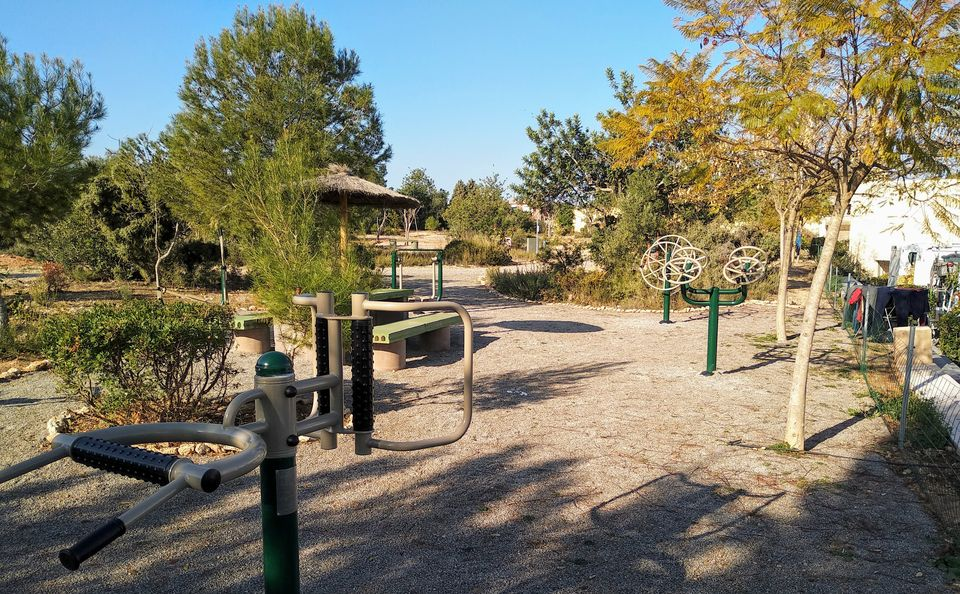 Outdoor Fitness: circuito biosaludable en VCP
